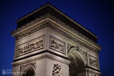 Arch De Triomphe Night